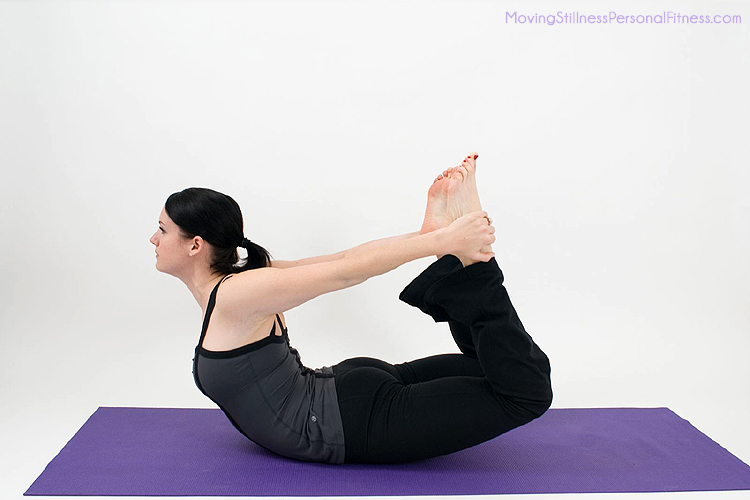 Gallery for floor bow pose for Floor yoga poses