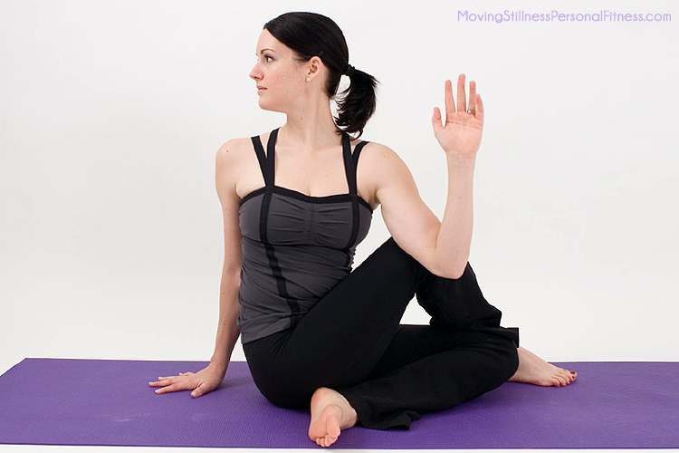 Yoga pose gallery brigid dineen for Half lord of the fishes