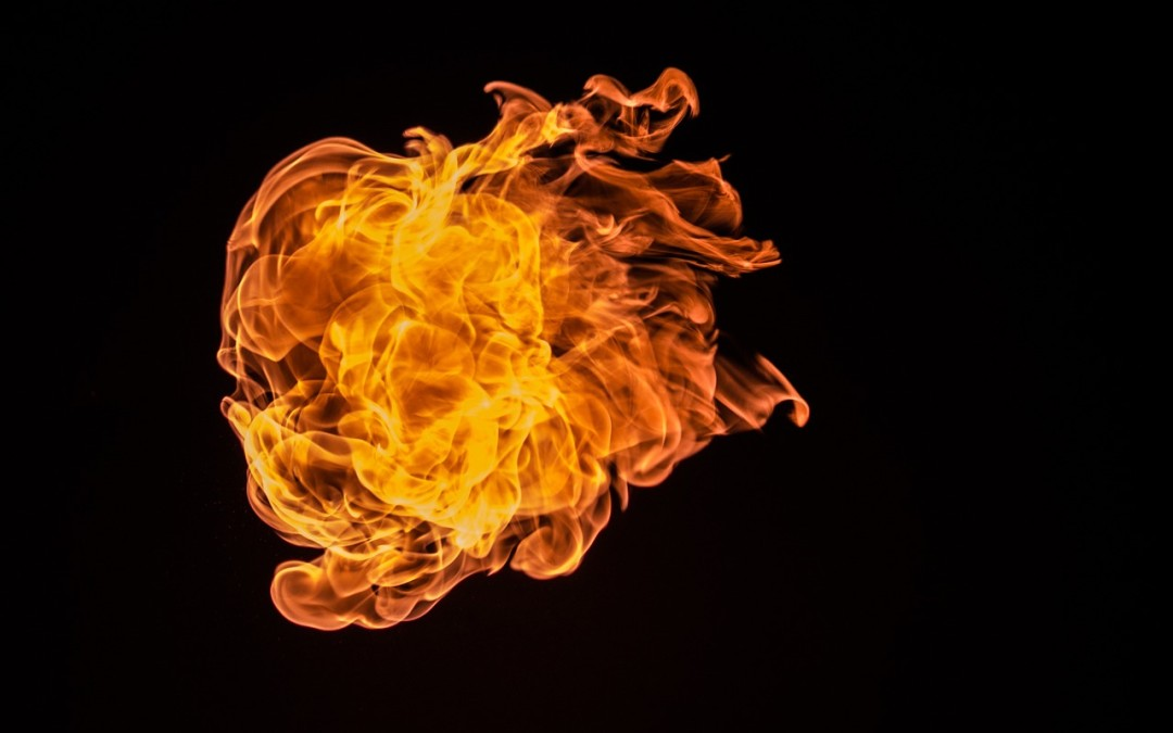 My mother did a fire walk, and it blew my mind.